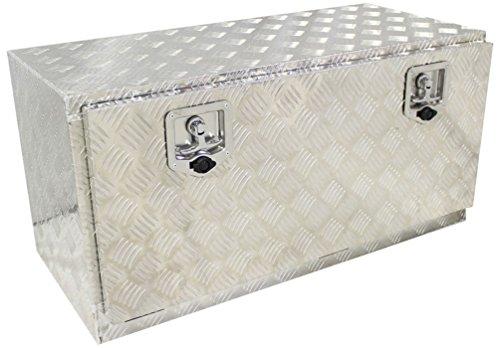 48″ Aluminum Truck Pickup Underbody Underbed Tool Box Trailer Bed Rail Storage