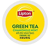 keurig bigelow chamomile - Keurig Tea and Ice Tea Pods K-Cups 18/22 / 24 Count Capsules ALL BRANDS/FLAVORS (Twinings/Chai/Celestial/Lipton/Tazo/Diet Snapple) (24 Pods Soothe Green Tea with Chamomile/Mint)