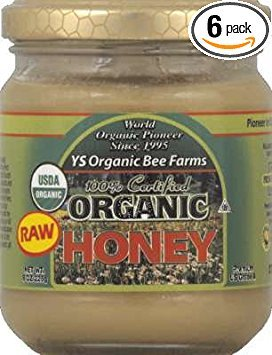 Y.S. Organic Bee Farms Honey, Og, 8-Ounce (Pack of 6) ()