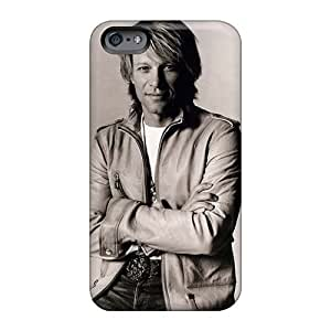 Scratch Protection Hard Phone Covers For Iphone 6 With Customized Beautiful Bon Jovi Pictures JamesKrisky