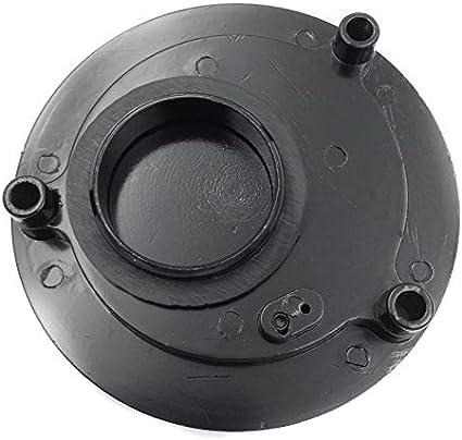 toutes les ann/ées Htt Moto Noir sans cl/é gas Cap Twist Off en aluminium Racing Bouchon du r/éservoir de carburant pour Yamaha YZF R6/