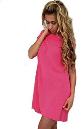Rosa chiaro 46 Short Fashion Cocktail Dress 2017 Summer Evening WpnOqPAwPY