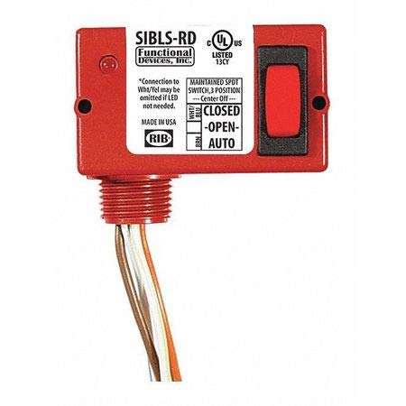Enclosed Switch, 5A, On/On, 30VAC/dc