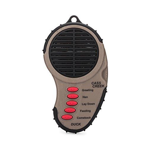 Cass Creek Ergo Duck Call, Handheld Electronic Game Call, CC003, Compact Design, 5 Calls In 1, Expert Calls for Everyone Cass Creek Goose Calls