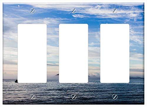 Switch Plate Triple Rocker/GFCI - Cabo Frio Strong Beach Forte Sao Mateus