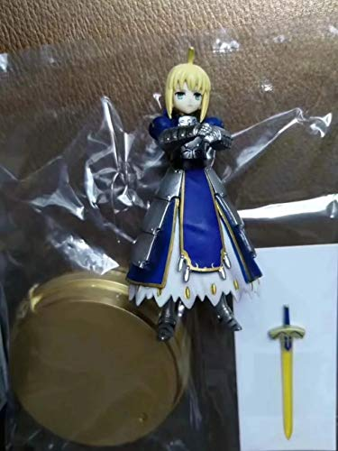 Fate Stay Night Fate Grand Order Fate Zero Saber Gilgamesh Scáthach Merlin Mash Kyrielight Cú Chulainn Alter 8pcs Figure