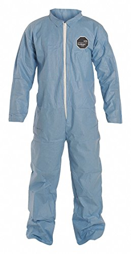 ProShield 6 SFR, Secondary FR Coveralls, Size: 4XL, Color Family: Blues, Closure Type: Zipper - 1 ()