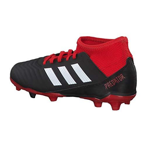 Fg Predator Negb Boots J Unisex Black 3 18 Football Kids' adidas qXORE