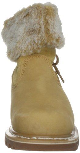 Cat Footwear BRUISER SCRUNCH 302651 - Botas fashion de cuero para mujer Amarillo