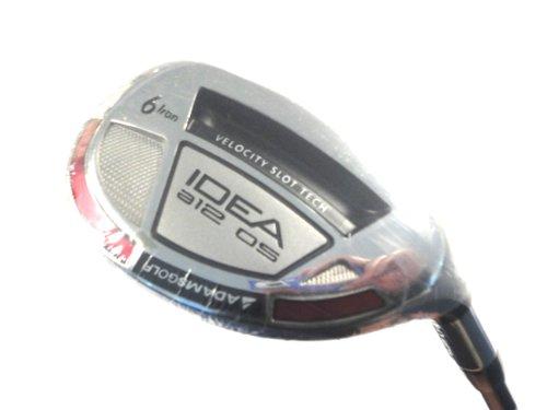 Adams Golf Men's Idea A12OS #6 Hybrid (Right-Handed, 28 Degree Loft, Grafalloy ProLaunch Blue Graphite, Regular Flex), Outdoor Stuffs