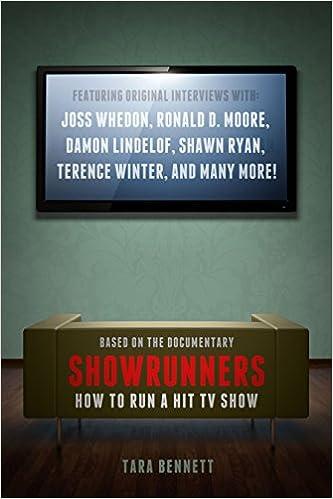 Showrunners The Art of Running a TV Show