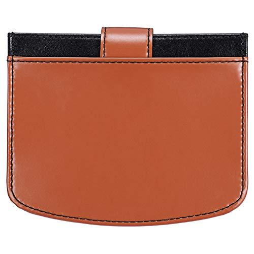 JISON21 Wallet for Women RFID Blocking Genuine Leather Muti Card Organizer