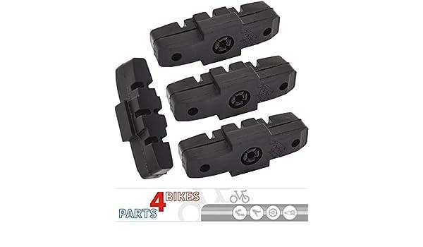 4/Pieces P4B Hydraulic Brake Pads Brake Pads for Magura HS11//HS22//HS24//HS33//HS 33/RE//HS33/R Urban//HS33/R Trial//HS33/Firmtech//HS33/R HSI - Black 2/Pair
