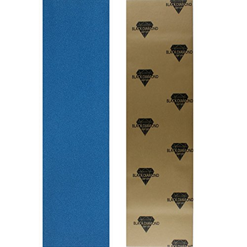 Black Diamond Longboard Skateboard Grip Tape Sheet