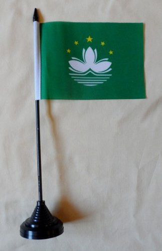 Macau Table Desk Flag
