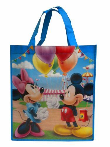 Disney Mickey Mouse and Friends Large Reusable Tote Bag (Mickey/Minnie -
