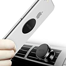 TORRAS Magnetic Car Mount Holder, 360° Rotation Air Vent Cell Phone Holder Magnetic Car Cradle Mount for iPhone X / 8 / 7 / 6, Samsung S7 / S8 / Note, LG, HTC, GPS and More