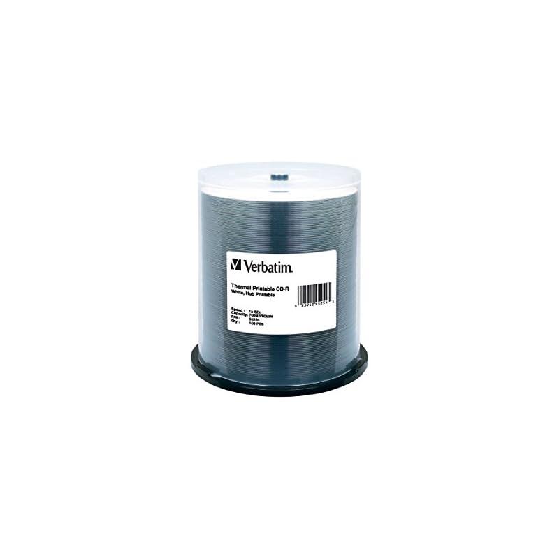 Verbatim CD-R 700MB 52X White Thermal Hu