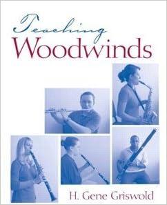 Book Teaching Woodwinds [2007] 1 Ed. Harold Gene Griswold
