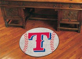 Fanmats MLB - Texas Rangers Baseball Mat