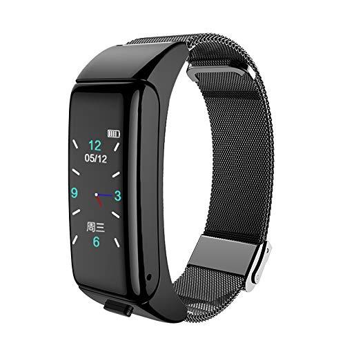 LARRY-X Smart-Bluetooth-Headset-Armband, wasserdicht, 2 in 1, bequemes Bluetooth-Kopfhörer-Armband mit Herzfrequenz…