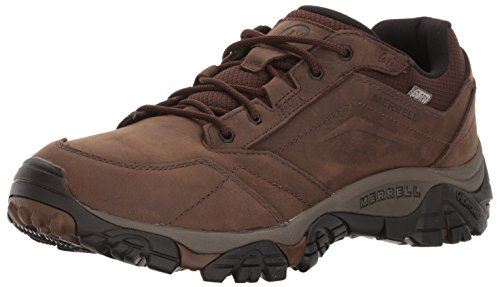 Merrell Men's Moab Adventure Lace Waterproof Hiking Shoe, Dark Earth, 10.5 M US