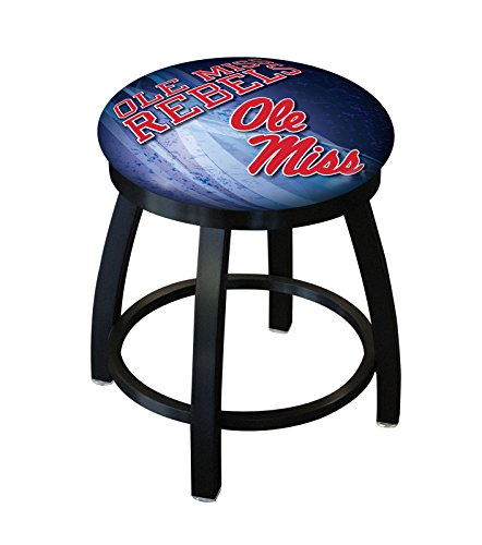 Holland Bar Stool Officially Licensed L8B2B University of Mississippi Swivel Stool, 18