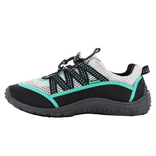 Women's Brille II Water shoe,Black/Aqua,6 M US