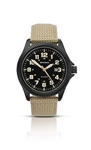 Sekonda  3505.27 - Reloj de cuarzo para hombre, con correa de nailon, color beige