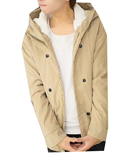 Coats Quilted Mens Zipper Down Color Brown Pockets With Pure AngelSpace Fashion w7WqTSCTB