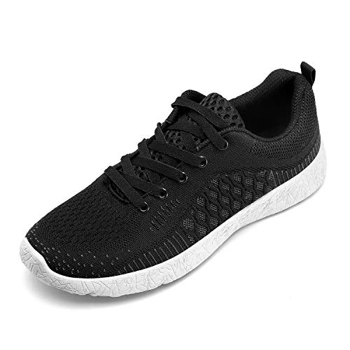 SelfieGo Mens Lightweight Walking Shoes Breathable Mesh Casual Athletic Sneaker Sport Running Shoes for Men - 8.5
