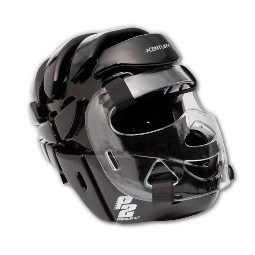 Century Full Head Gear with Face Shield-Black Youth