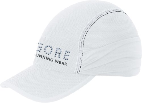 Gore Running Wear Air Lady Cap, White, One Size