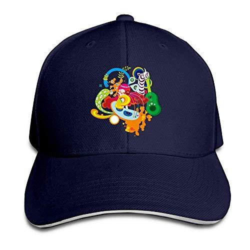 Hat Graffiti Art Denim Skull Cap Cowboy Cowgirl Sport Hats Men Women
