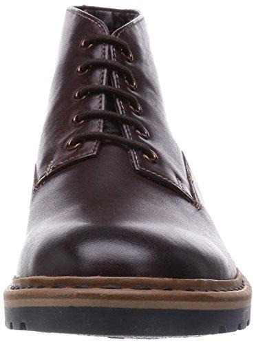 Clarks Dargo Lo, Herren Kurzschaft Stiefel Braun (Chestnut Leather)