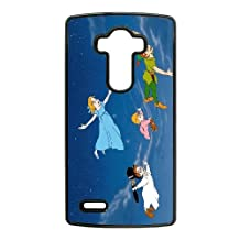Durable Rubber Cases LG G4 Cell Phone Case Black Ngfyc Peter Pan Protection Cover