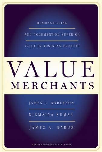 Image of Value Merchants: Demonstrating and Documenting Superior Value in Business Markets