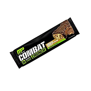 Muscle Pharm - Combat Crunch Bar White Chocolate Raspberry - 2.22 oz.