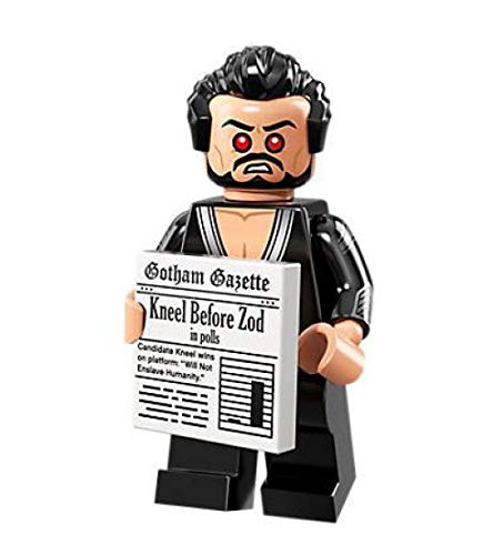 71020 General Zod LEGO The Batman Movie Series 2 Collectible Minifigure