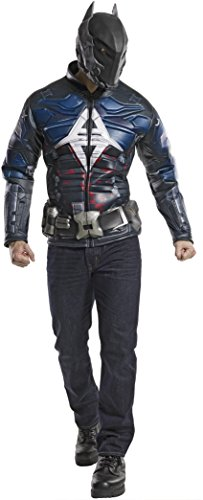 Rubie's Costume Co DC Comics Men's Arkham Knight Muscle Chest Costume Top, Multi, Medium