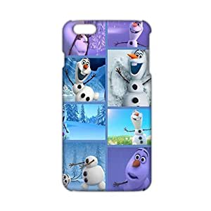 Evil-Store Frozen lovely snow doll 3D Phone Case for iPhone 6 plus