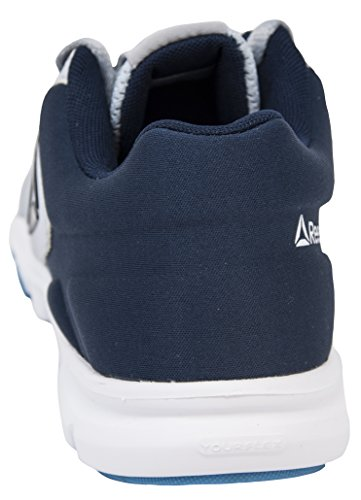 0 Black 9 Yourflex Trainer Shoe Reebok White Grey Cross Women's Trainette Navy Cloud MT CwqwR6n