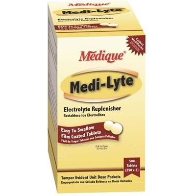 - Medique Medi Lyte Electrolyte Tablets, Box of 100 By Tabletop King