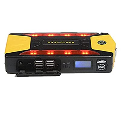 Glumes 12V 400A Peak 82800mAh Portable Jump Starter 4 USB Output 2A Ports Vehicles AutomotiveSupplies EmergencyStart Booster Charger Battery &Power Bank