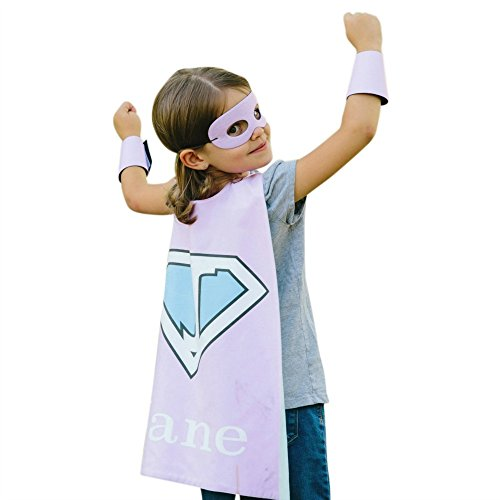 Personalized Kids Cape Costumes (Pink -