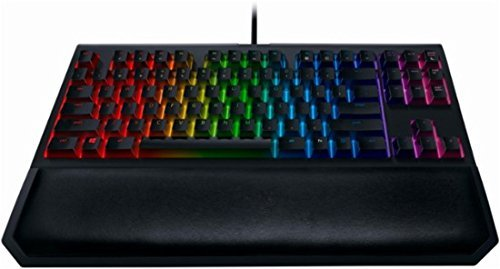 Razer - BlackWidow Chroma V2 Tournament Edition USB Gaming Keyboard - Black (Certified Refurbished)