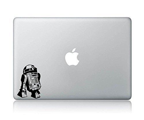 R2-D2 Looking Apple Star Wars Apple Macbook Laptop Decal Vinyl Sticker Apple Mac Air Pro (Best Electronic Arts The Mountain Kid Cds)