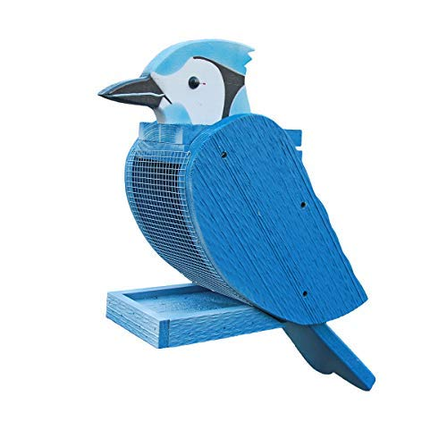 Peaceful Classics Bird Feeder - Amish Made (Blue Jay)