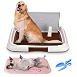 Ej.Life Pet Training Pad Tray, Indoor Dog Training Toilet, Floor Protection Dog Pad