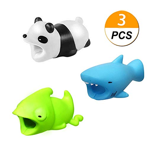 Cable BITE for Cellphone Cable Cord Cute Animal Phone Accessory Protector